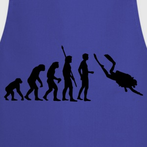 evolution_taucher_a Shirts - Cooking Apron