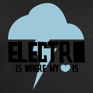 Electro is where my heart is - Men's Sweatshirt by Stanley & Stella