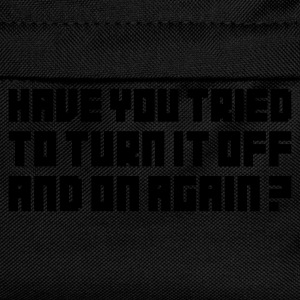 Turn it Off - Kids' Backpack