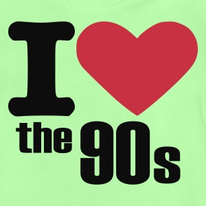 Kelly green Love - 90s Kinder T-Shirts - Baby T-Shirt