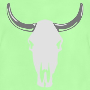 Kelly green cow_skull_b_2c_black Kinder T-Shirts - Baby T-Shirt