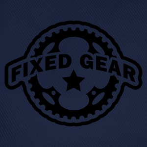 Fixed Gear Fixie Chainring T-Shirts - Baseball Cap