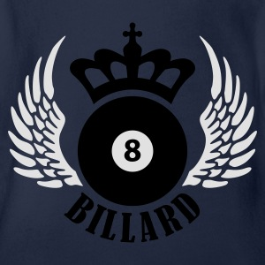 billard_eight_2c Skjorter - Økologisk kortermet baby-body