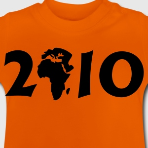 Gelb 2010 in Afrika  / 2010 in Africa (1c) Kinder T-Shirts - Baby T-Shirt