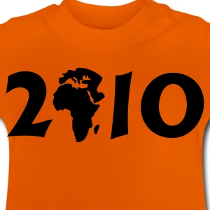 Gul 2010 in Afrika  / 2010 in Africa (1c) Børne T-shirts - Baby T-shirt