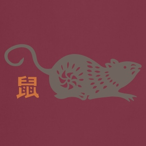 year of the rat (chinese zodiac) - Grembiule da cucina