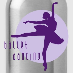 ballet_dancing_2c Shirts - Water Bottle