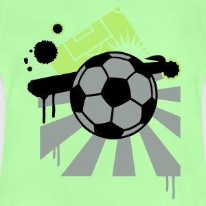 Vert tendre Football design T-shirts Enfants - T-shirt Bébé