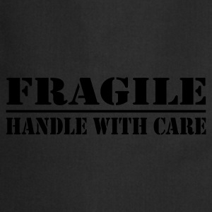 fragile - handle with care - Keukenschort