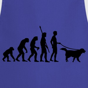 Sky evolution_dog Men's T-Shirts - Cooking Apron