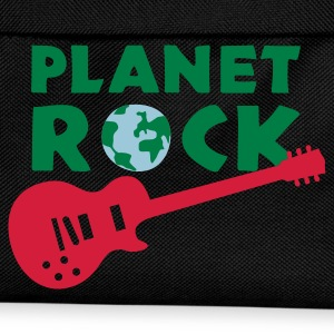 Black planet_rock_3c Women's T-Shirts - Kids' Backpack