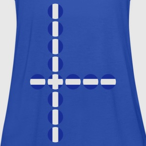 Cyan Greece Kids' Shirts - Women's Tank Top by Bella