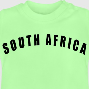 Kelly green SOUTH AFRICA Suid-Afrika Südafrika Afrique du Sud Sudáfrica football Fußball WM Sports - eushirt.com Kinder T-Shirts - T-shirt Bébé