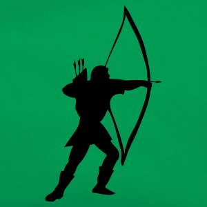 Kelly green longbow archer medieval  Kids' Shirts - Retro Bag