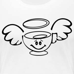 Girly Kaffe - Frauen Premium T-Shirt