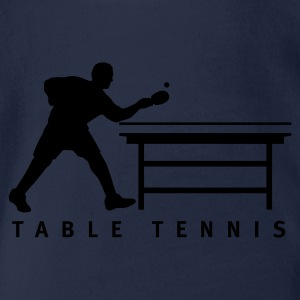table_tennis_b_1c Shirts - Baby bio-rompertje met korte mouwen