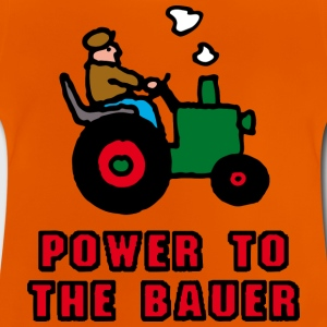Gelb power_to_the_bauer_d Kinder T-Shirts - Baby T-Shirt