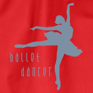 ballet_dancer_b_1c T-Shirts - Drawstring Bag
