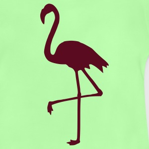 Kelly green Flamingo Kinder T-Shirts - Baby T-Shirt