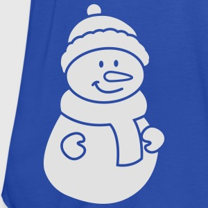 Snowman Kids' Shirts - Women's Tank Top by Bella