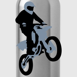 motorbike_stunt_a_2c Shirts - Water Bottle