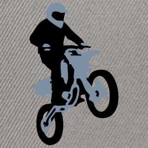 motorbike_stunt_a_2c Tee shirts - Casquette snapback