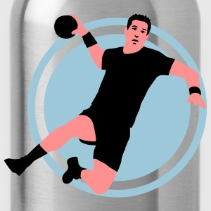 handballer_e_3c Shirts - Water Bottle