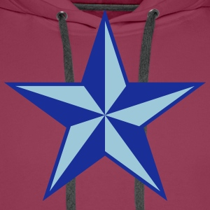 nautical star Kids' Shirts - Men's Premium Hoodie