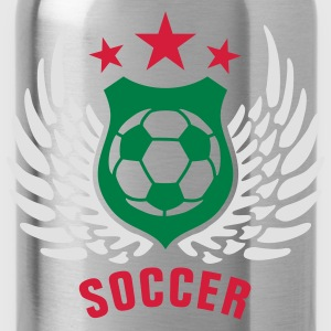 soccer_h_3c T-Shirts - Water Bottle