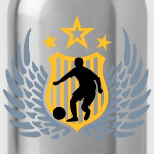 fussball_m_3c Shirts - Water Bottle