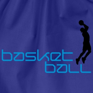 basketball_h_2c T-shirts - Gymnastikpåse