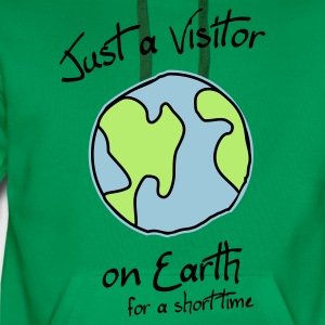 Visitor on Earth T-Shirts - Männer Premium Hoodie