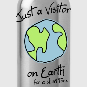 Visitor on Earth T-Shirts - Trinkflasche