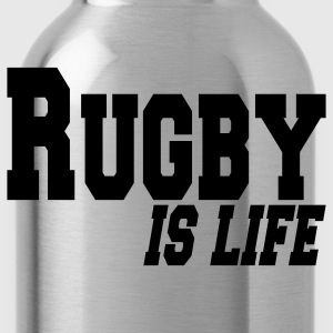 rugby is life Kinder shirts - Drinkfles
