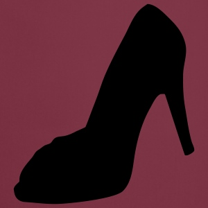 shoe - highheel Barn-T-shirts - Förkläde