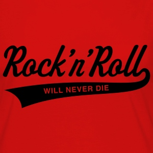 Rock 'n' Roll will never die T-Shirts - Frauen Premium Langarmshirt