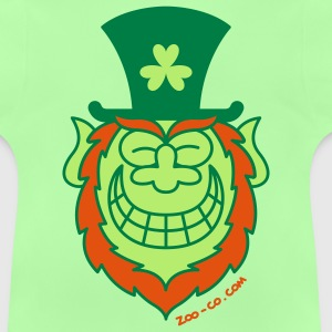 St Paddy's Day Leprechaun Grinning from Ear to Ear Kids' Shirts - Baby T-Shirt