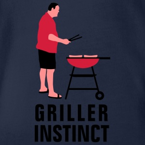 griller_instinct_3c Shirts - Organic Short-sleeved Baby Bodysuit