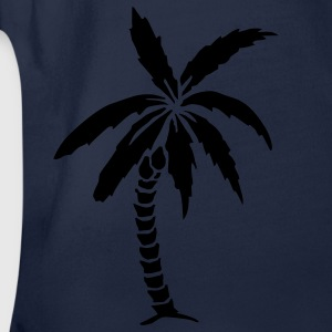 Palm Tree - Summer Barneskjorter - Økologisk kortermet baby-body