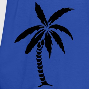 Palm Tree - Summer Kids' Shirts - Women's Tank Top by Bella