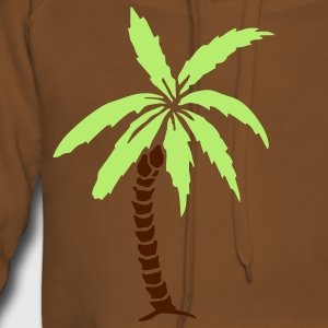 Palm Tree - Summer Barneskjorter - Premium hettegenser for kvinner
