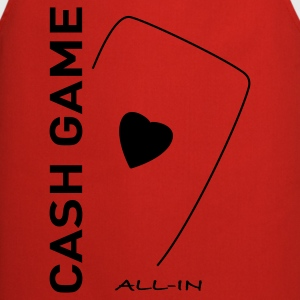 Cash Game Poker - Tablier de cuisine
