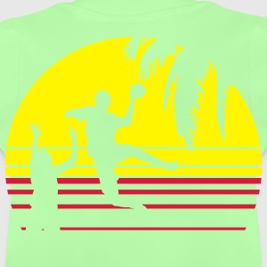 SUNSET BEACH HANDBALL Kinder T-Shirts - Baby T-Shirt