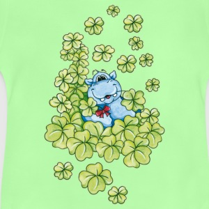 The Hippo and the happiness Kids' Shirts - Baby T-Shirt