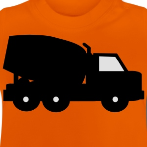 cement mixer Kinder shirts - Baby T-shirt