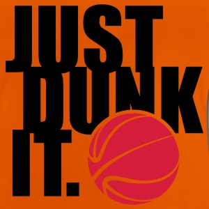 JUST DUNK IT Kinder T-Shirts - Baby T-Shirt