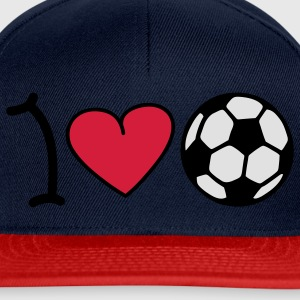 I love football T-Shirts - Snapback Cap