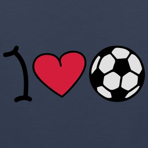 I love football T-shirts - Débardeur Premium Homme