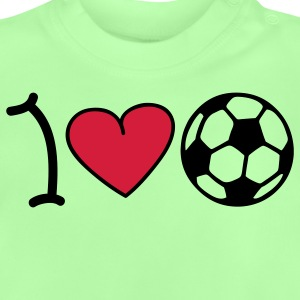 I love football Kinder shirts - Baby T-shirt