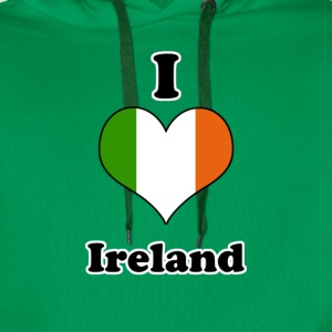 I love Ireland T-Shirts - Men's Premium Hoodie